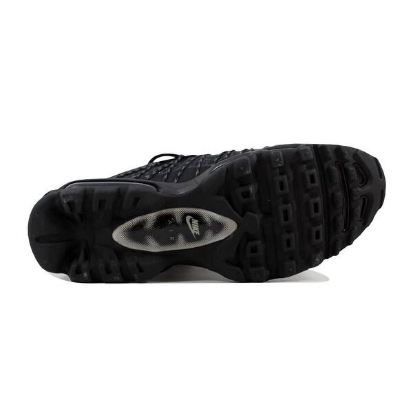 NIKE AIR MAX 95 Ultra JCRD Mens Shoes Sz 9 749771 001 Black Silver Dark Grey