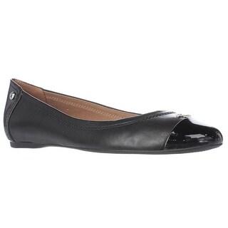 Coach Chelsea Ballet Flats, Black/Black