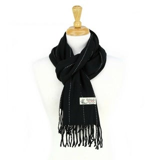 Super Soft Luxurious Classic Stripes Cashmere Feel Winter Scarf