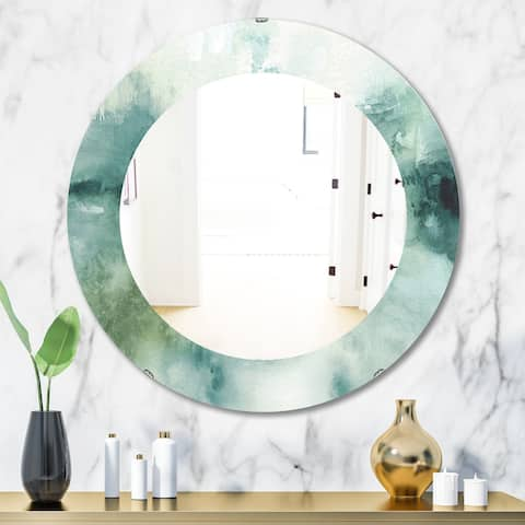 Porch & Den 'Lost Into The Blue' Traditional Mirror - Blue