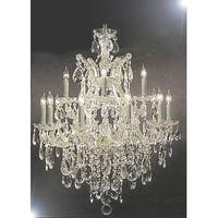 Swarovski Crystal Trimmed Maria Theresa Chandelier Lighting