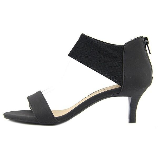 Moda Spana Womens meg Open Toe Ankle Strap Classic Pumps - 7