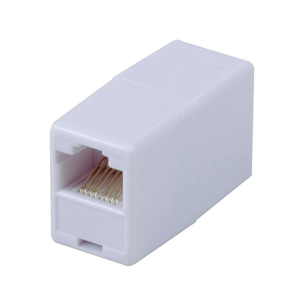 RCA Cat5 Rj45 White Coupler