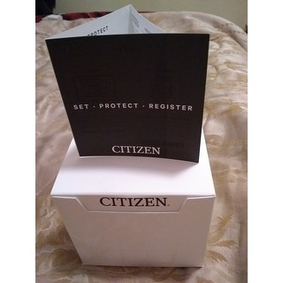 Citizen Men's Drive Brown Leather Watch