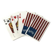 New Jersey - Distressed Flag - LP Artwork (Poker Playing Cards Deck)