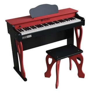 Schoenhut Learn-to-Play Digital Piano with Play-by-Color Tri-Play Learning System My First Piano Tutor