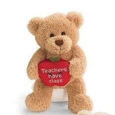 Gund Teachers Have Class Plush Teddy Bear
