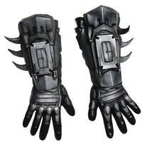 Adult Deluxe Black Batman Costume Gloves
