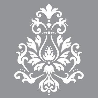 "Brocade Motif - Americana Decor Stencil 12""X12"""