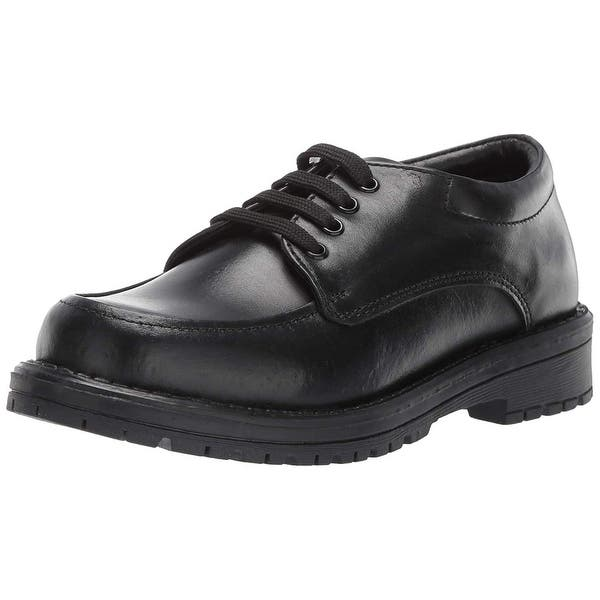 Kids School Mates Boys Schoolmates Leather Lace Up Oxfords - Overstock -  27622553