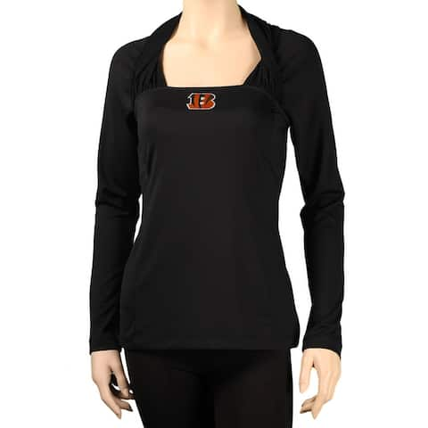 """All Sport Couture Ladies """"Redzone"""" Long-Sleeved Knit Top"""