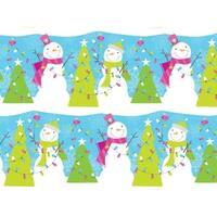 """Snowman Jubilee 24""""x85' Roll Gift Wrap"""
