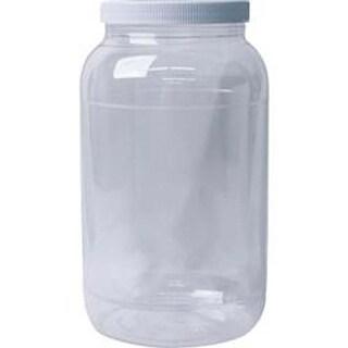 Clear - Jacquard Empty Wide Mouth Gallon Plastic Jug