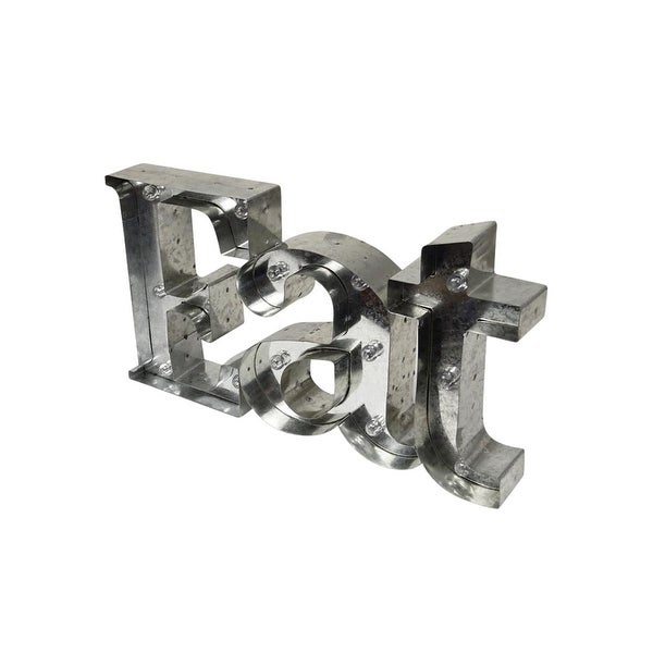 Shift3 Eat Marquee Sign Rustic Finish LED
