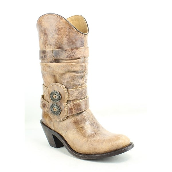 9215c7f1e2f Shop Johnny Ringo Womens Rochelle Tan Cowboy, Western Boots Size 6.5 ...