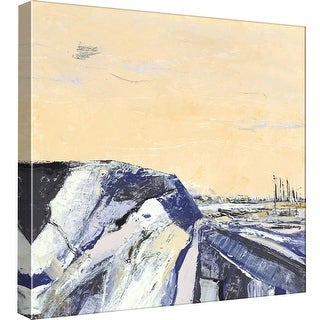 """PTM Images 9-97859  PTM Canvas Collection 12"""" x 12"""" - """"Topographs 1"""" Giclee Rural Art Print on Canvas"""