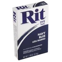 Rit Navy Blue Powder Dye