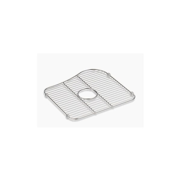 Shop Kohler K 5103 Staccato Large Bowl Stainless Steel Sink Rack