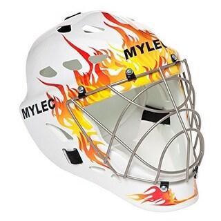 Mylec Kids Ultra Pro II Goalie Mask - Jr., Flame,