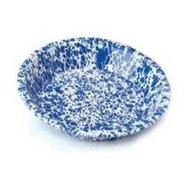 Crow Canyon D42BRM Pie Plate, Dark Blue Marble