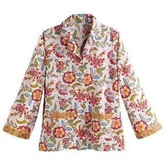 Women's Our Signature Pajama Set - Floral Print Sleep Shirt And Pants