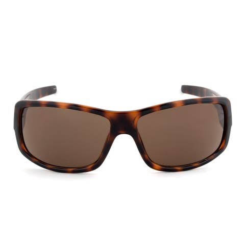 Timberland TB7092 52E Rectangular Sunglasses Tortoise Brown Frame Brown Lens - 65mm x 14mm x 120mm