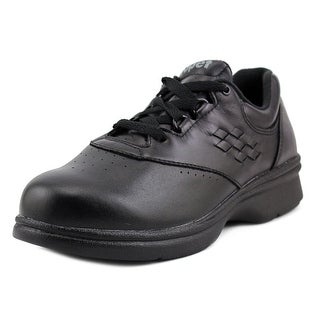 Propet Vista Walker Women W Round Toe Leather Black Sneakers