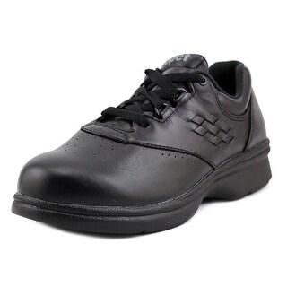 Propet Vista Walker Women 2E Round Toe Leather Black Sneakers