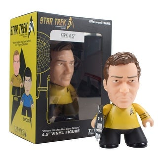 Star Trek Captain James T. Kirk Titan Vinyl Figure NYCC 2016 Exclusive 4.5""