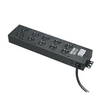 Tripp Lite Ul800cb-15 Waber Power Strip 120V 5-15R 10 Outlet Metal, 15' Cord