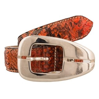 Renato Balestra NAJA RO Genuine Python Ladies Belt