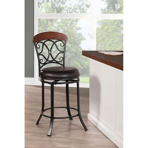 Hillsdale Furniture Trevelian Swivel Stool