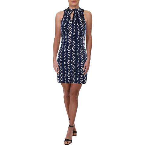 Julie Brown Womens Bree Casual Dress Sleeveless Mini - Brandt Lake - P