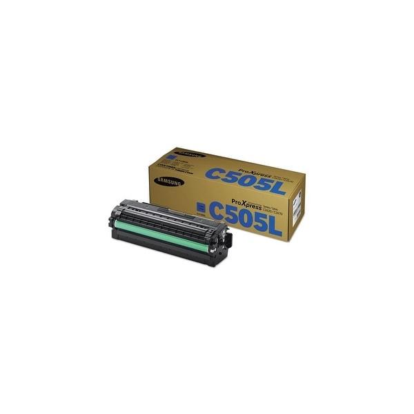 Samsung CLT-C505L High Yield Cyan Toner Cartridge Toner Cartridge