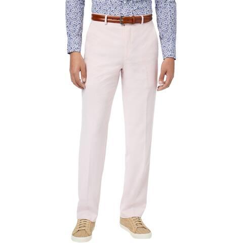 Sean John Mens Classic Dress Pants Slacks, Pink, 40W x 34L - 40W x 34L