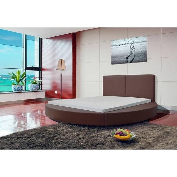 Greatime Modern Round Shape Platform Bed. Opens flyout.