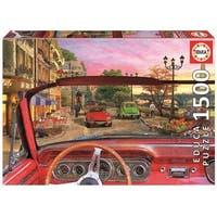 Paris in a Car 1500 Piece Puzzle, 1,500 Piece Puzzles by John N. Hansen