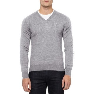 Versace Collection Gray Wool Sweater (3 options available)