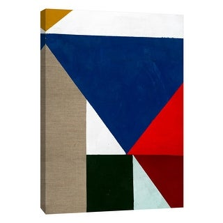 """PTM Images 9-105124  PTM Canvas Collection 10"""" x 8"""" - """"Primary Shapes 2"""" Giclee Abstract Art Print on Canvas"""