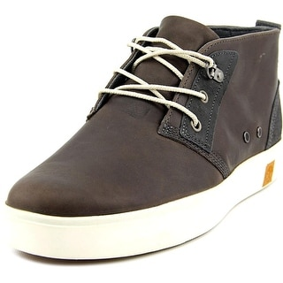 Timberland Amherst Men Round Toe Leather Brown Chukka Boot