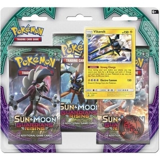 Pokemon Sun and Moon Guardians Rising 3 Booster Blister
