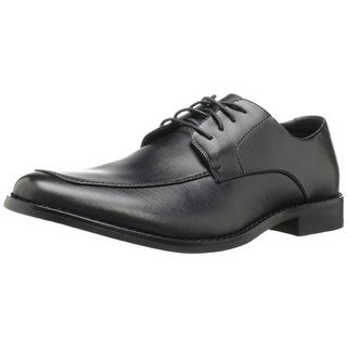 Deer Stags Mens Wynwood Leather Square Toe Derby Shoes - 11.5 medium (d)