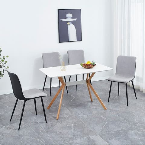 Dining chair 4-piece set kitchen dining room chair special chair living roomwithout table
