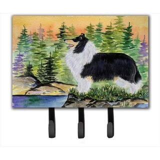 Collie Leash Holder or Key Hook