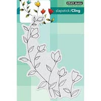 """Softly - Penny Black Cling Rubber Stamp 5""""X7.5"""" Sheet"""