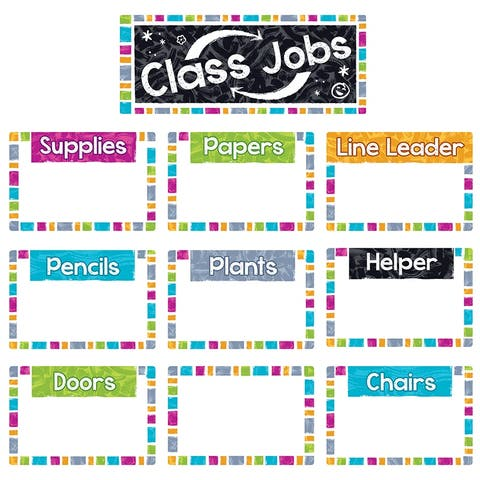 (3 St) Wipe-Off Class Jobs Mini Bb St Color Harmony