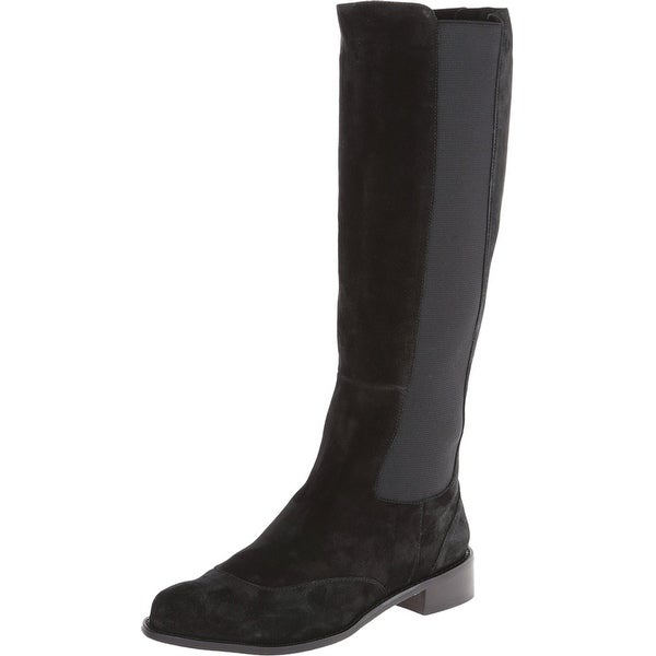 Vaneli NEW Black Women Shoe Size 5.5M Rasha Knee-High Suede Boot