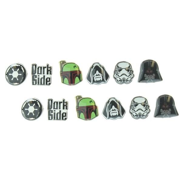 Star Wars Darth Emperor Dark Side Earring Pack - multi
