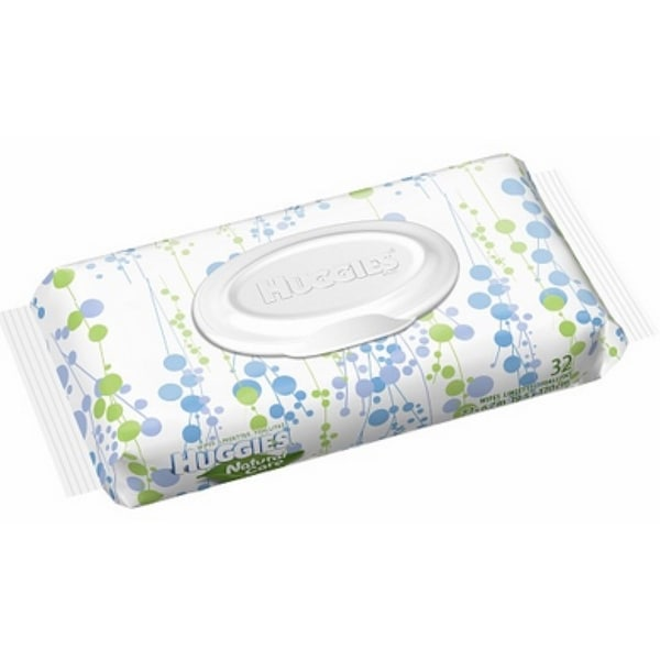 HUGGIES Natural Care Wipes Refill Fragrance Free 32 Each