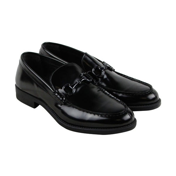 Kenneth Cole Reaction Design 201063 Mens Black Casual Dress Loafers Shoes